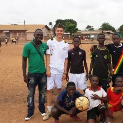 Ollie S in Ghana